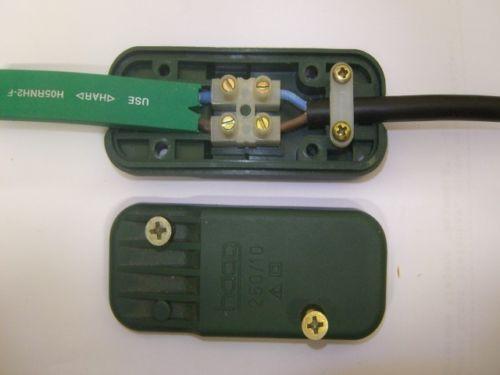 Illu Adapter Verbinder Anschlussstück für Kabel H05RNH2-F