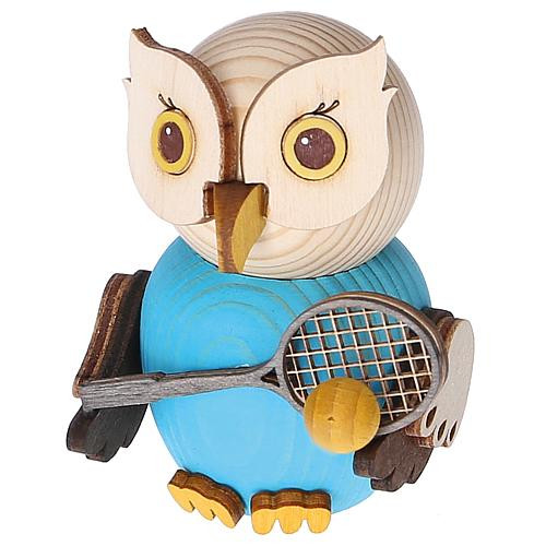 Eule Tennisspieler